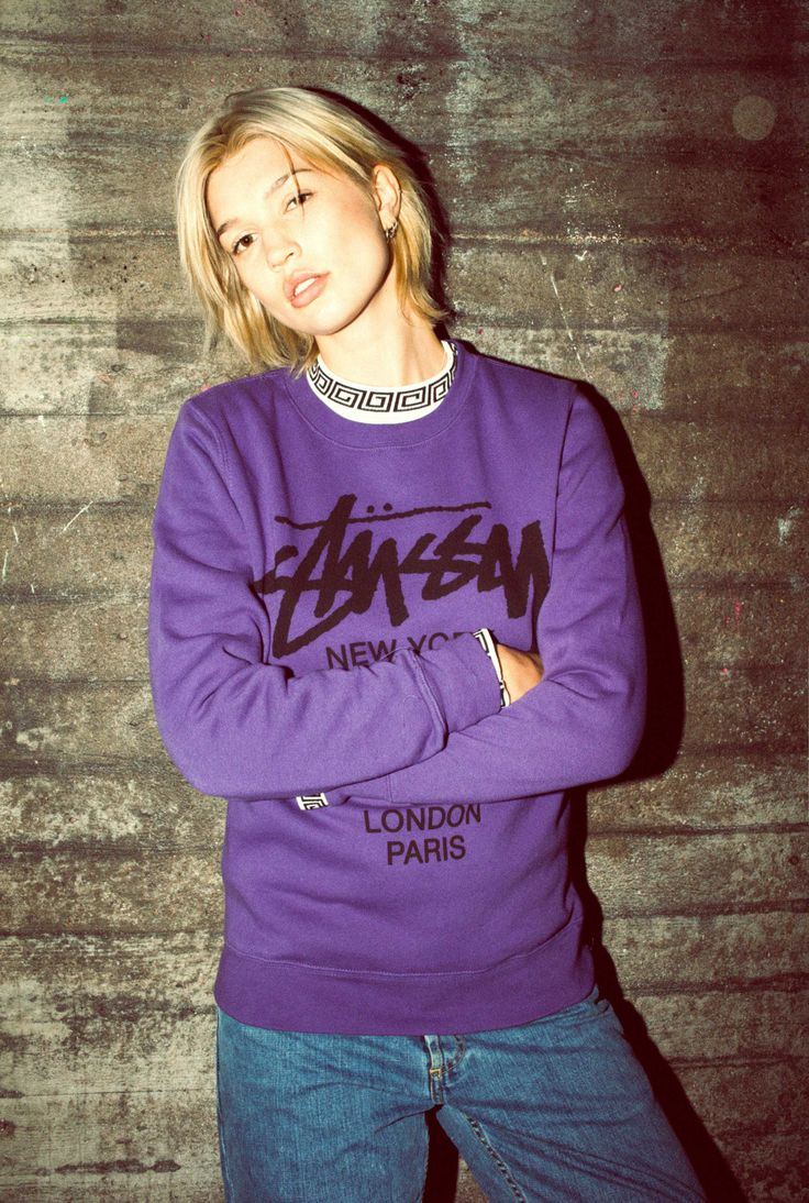 Sneakers outfit - Caliroots x Stussy lookbook spring-summer 2016