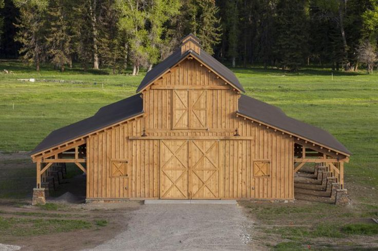 17 best images about barn garages on pinterest pole barn for Open pole barn