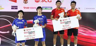 Berry/Rian (kanan) juara Thailand Open GPG 2016/badmintonindonesia.org     Ganda putra Rian Agung...