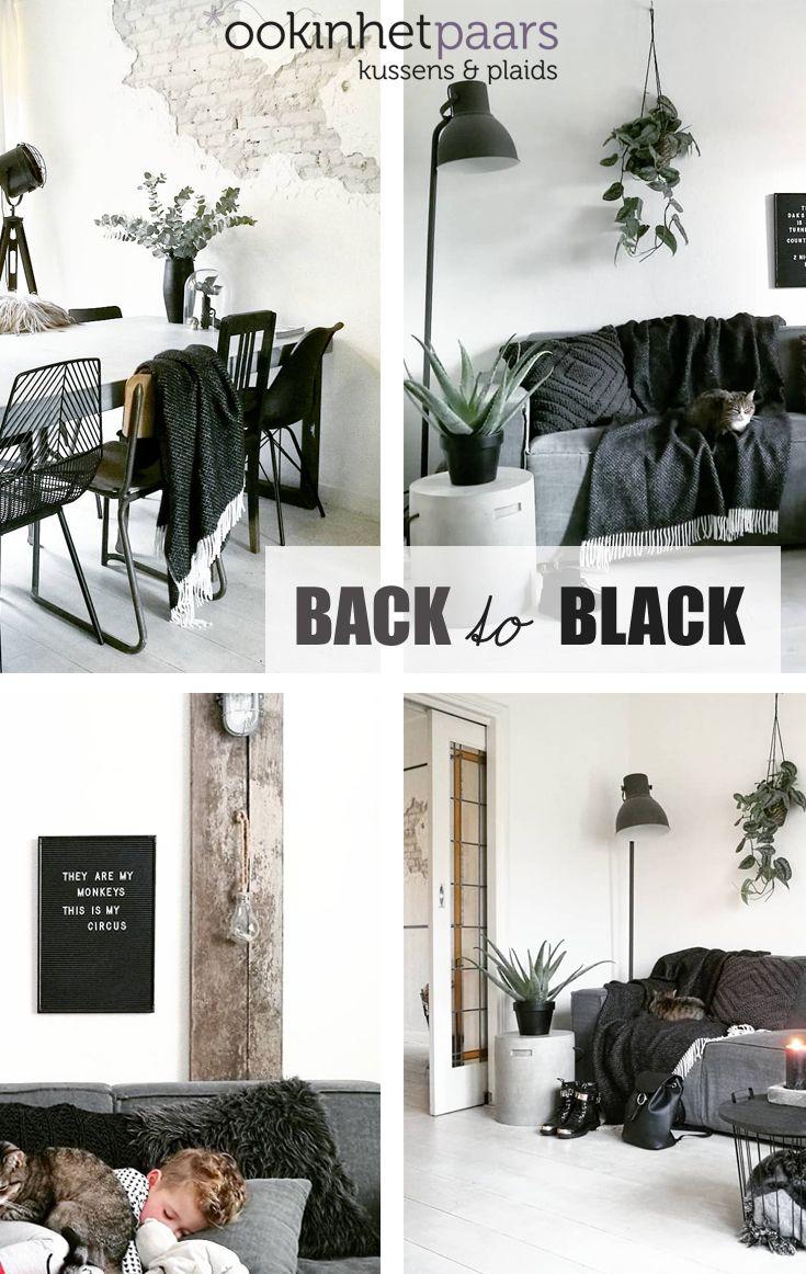 8e00596d6a9 Plaid lamswol Velvet: zwart in 2019   * PLAIDS OOKINHETPAARS ...