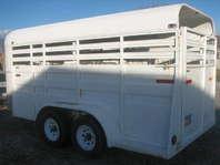 Bronco Bumper Pull 4 Horse Trailer - Horses/Livestock, Trailers - Pets and Livestock - Garland - For Sale - Classifieds | ksl.com