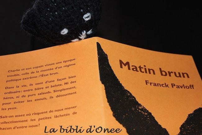 « Matin brun » (Franck Pavloff) : Réveillons les consciences