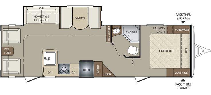 Keystone RV 285RLSWE floorplan
