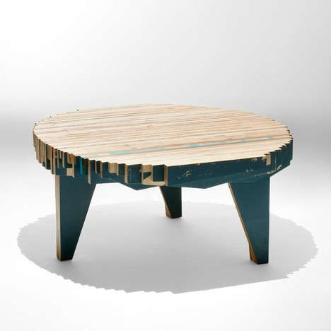Cocoon Shaped Chairs. Plywood ChairForm