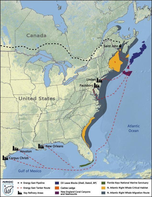 Tar Sands in the Atlantic Ocean: Transcanada's Proposed Energy East Pipeline | NRDC