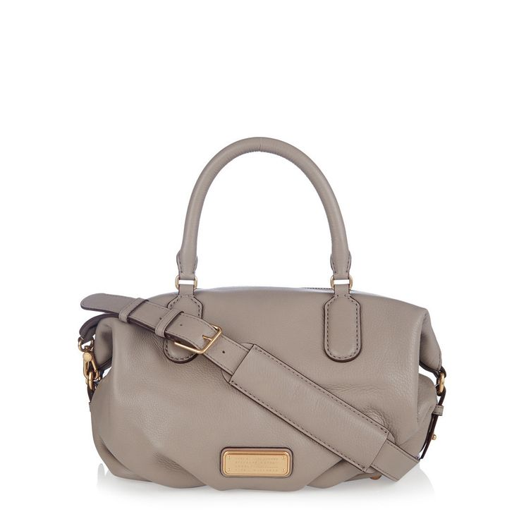 Marc BY Marc Jacobs New Q Small Legend Cement Satchel