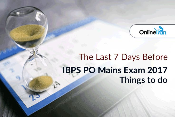 #IBPSPO मुख्य परीक्षा 2017 : अंतिम सप्ताह तैयारी रणनीति: https://buff.ly/2jc4SSt?utm_content=buffera1d39&utm_medium=social&utm_source=pinterest.com&utm_campaign=buffer