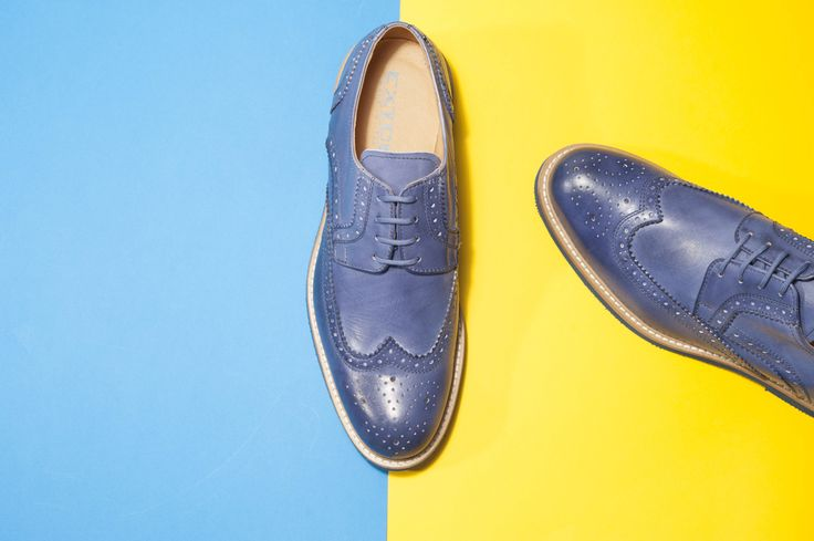 Derby brogue in leather jeans with rubber sole. #lucacalzature #milan #madeinitaly #shopping