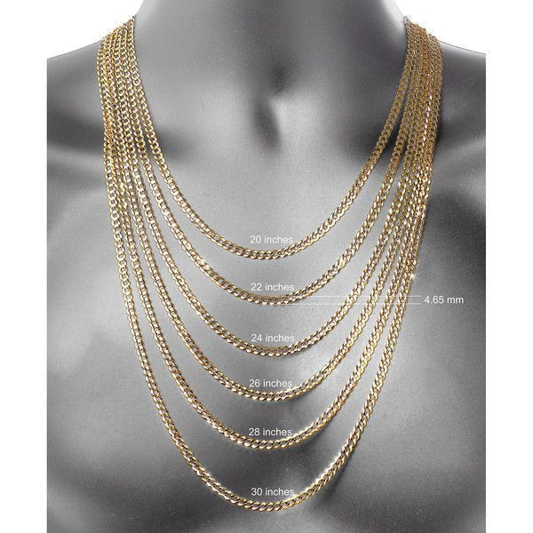 14K Yellow Gold 1.8mm Hollow Rope Chain Necklace - Fine Jewelry - Size... ($562)  liked on Polyvore featuring jewelry necklaces fine jewelry gold jewelry yellow gold necklace 14k gold necklace and gold necklace #jewelrynecklaces #finenecklaces #finejewelry