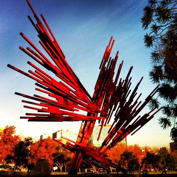 Parque de las Esculturas en Providencia, Metropolitana de Santiago de Chile