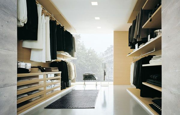 Another spectacular and functional walk in closet ... this one with a view too! #walkincloset #closet #storage #design #home