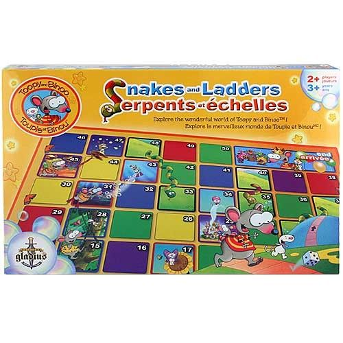 Toopy and Binoo Snakes and Ladders | 3025245 | RP: $29.99, SP: $24.99