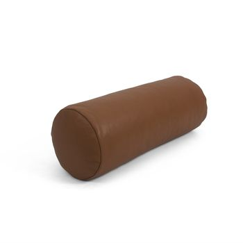Cylinder | Bent Hansen. pyntepude-pude-cushion-pillow-boligindretning-homedecor-benthansendesign-cognac-brown-leather