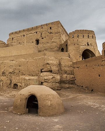 Narin Castle, Iran Photograph by Mohamad Nouri, National Geographic Your Shot  The Narin Castle is a mud-brick fort in the town of Meybod, Iran. Today, the castle's future is in jeopardy. Locals use the site as a garbage dump.