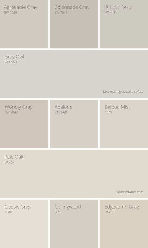 Colors In Paint >> 11 greatest best warm gray paint colors | Paint colours | Pinterest | Warm gray paint, Gray ...