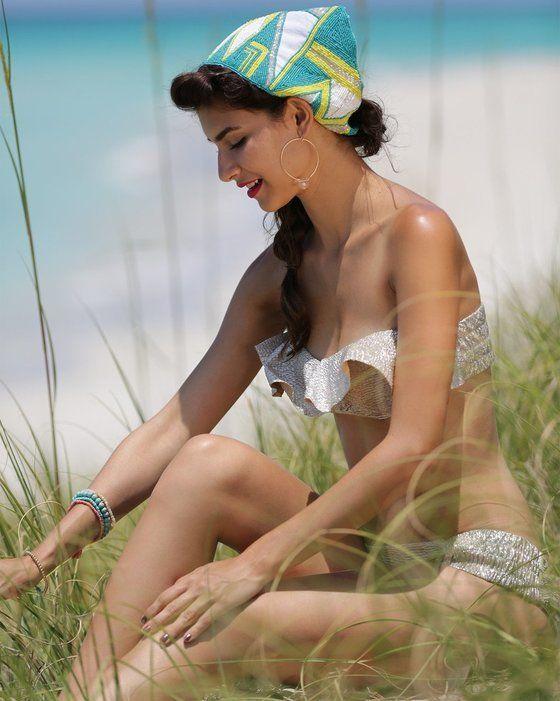 Nicolita Swimwear - Isla Bonita Bikini Ruffle Tube Top