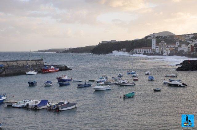 Candelaria este un oraș mic și liniștit din partea de est a însoritei insule Tenerife