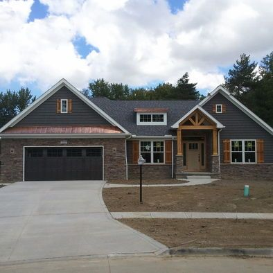 craftsman style ranch meets contemporary design pictures remodel decor and ideas page - Craftsman Ranch Home Exterior