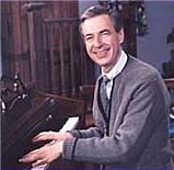 "Music of Mr. Rogers- There's lots of cool music for kids now, but ""You Are Special"" and ""It's You I Like"" are classics."
