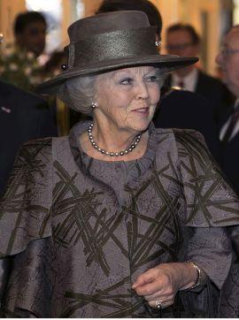 Princess Beatrix, Feb 7, 2017   Royal Hats
