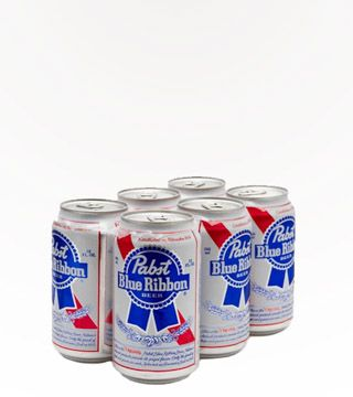 """Pabst Blue Ribbon - $4.99 There are few things more American than Pabst Blue Ribbon. It's the largest US owned brewery in the country, and it was established in Milwaukee in 1844. C'mon, Milwaukee… How American is that? PBR has been one of the best selling lagers ever since, and it's known for it's bold flavor, and popularity with the """"in crowd."""""""