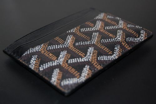Goyard Card Holder Wallet