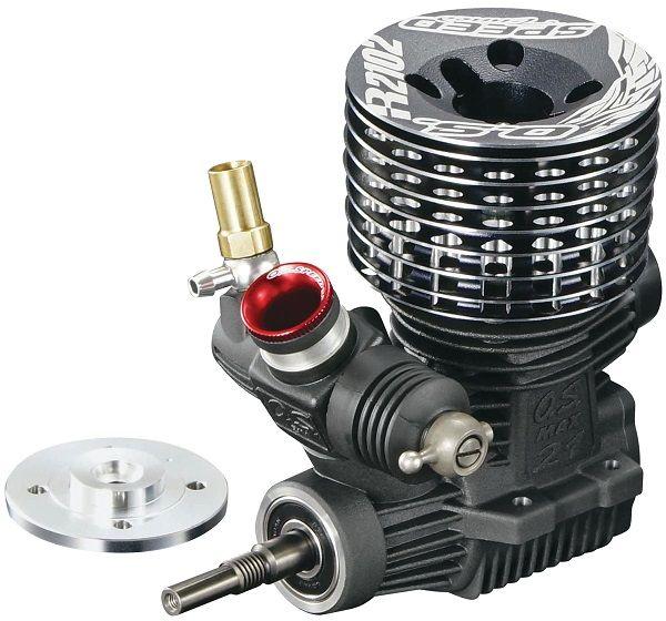 Nitro R C Cars Engine Tuning Secrets: O.S. Engine Speed R2102 1/8 On-Road Nitro Engine