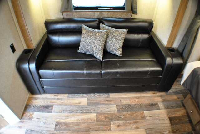 """2016 New Forest River ROCKWOOD MINI LITE 2109S Travel Trailer in Pennsylvania PA.Recreational Vehicle, rv, *** IN STOCK **** Mini Lite 2109S by Rockwood New Sapphire Package with Oyster exterior color. Maple wood with Biltmore interior Features & Options: Auto ignition Furnace, 13,500 BTU AC, 12 Volt Power Plug Hook-up, Monitor Panel, 35 Amp Converter With Charger, LED 12 Volt Interior Lighting, Directional Reading Lights in Sofa Slide, Mounted 22"""" LCD TV Digital, AM/FM/CD/DVD w/ Remote, MP3…"""