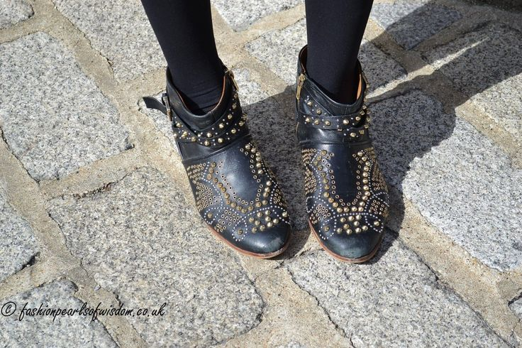 Studs take on a more delicate appearance this season  #LFW #MaxMyStyle