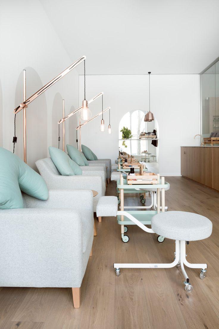 M s de 25 ideas incre bles sobre salones de belleza en - Diseno de salon ...