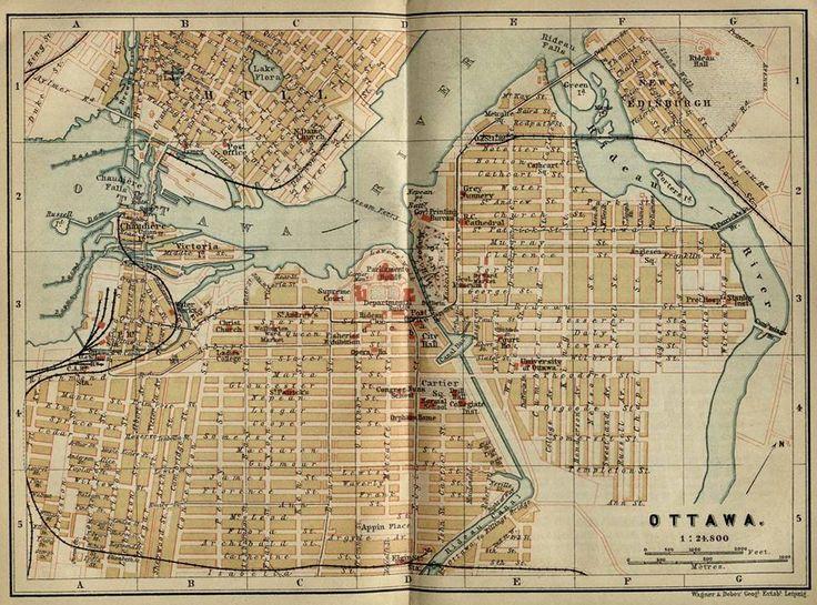 The 25 best ottawa map ideas on pinterest ottawa tattoo wall an ottawa map 1894 i found at u of texas from lost ottawa gumiabroncs Gallery