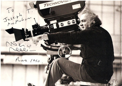"""""""Talking about dreams is like talking about movies, since the cinema uses the language of dreams; years can pass in a second and you can hop from one place to another. It's a language made of image. And in the real cinema, every object and every light means something, as in a dream.""""    ~ Frederico Fellini, Filmmaker"""