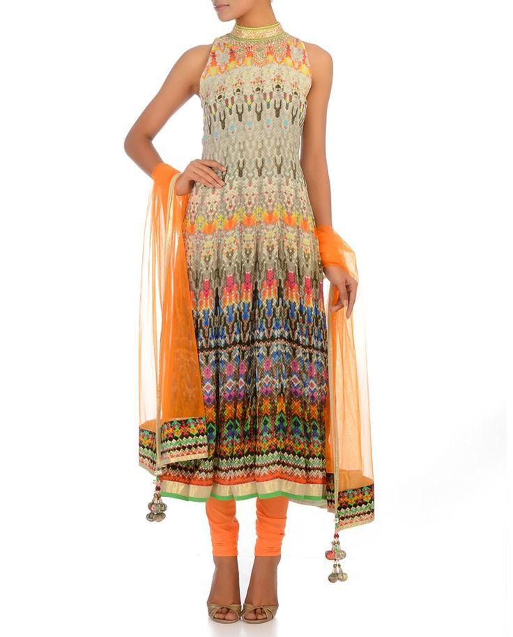 Indian wedding, Indian suit, Punjabi dress, digital print, exclusively.in