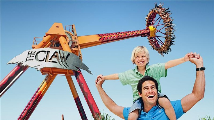 Dreamworld Theme Park, Gold Coast - Have the experience of a life-time with so many worlds in one!