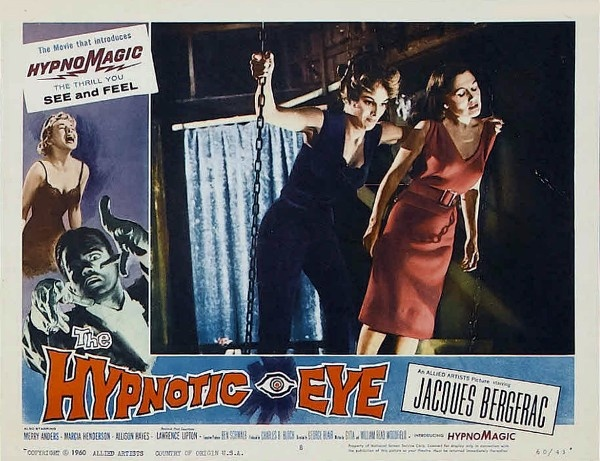 the hypnotic eye  1960   starring jacques bergerac  merry anders  joe patridge  guy prescott