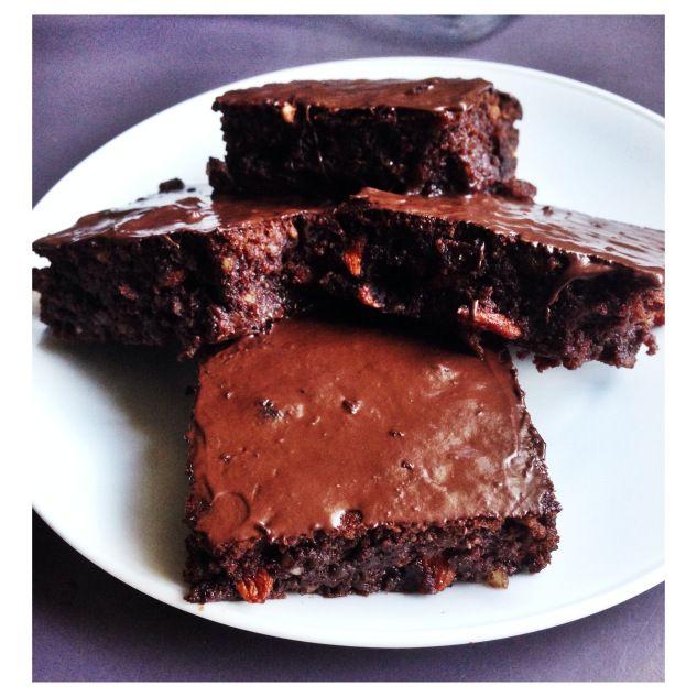 Goji Berry Chocolate Brownies (Grain, Dairy & Refined Sugar Free ...