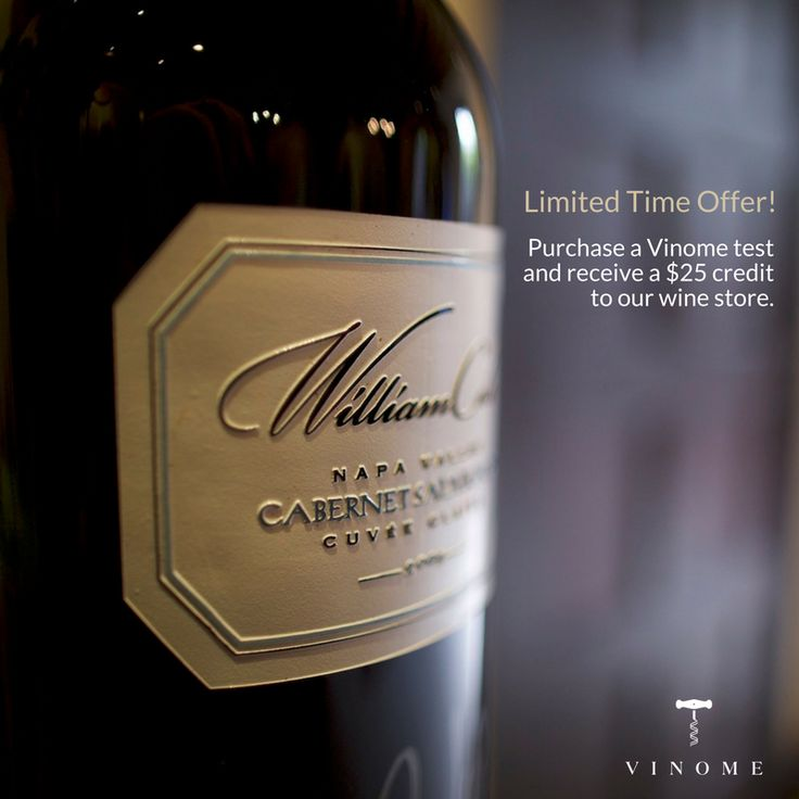 Get started on your Vinome journey and receive a $25 credit to our online wine store. #MyVinome