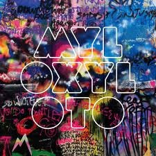 LOVE this Coldplay album cover! The colours and typeface work beautifully together!