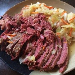 "Slow-Cooker Corned Beef and Cabbage | ""No more dry corned beef! Cook ..."