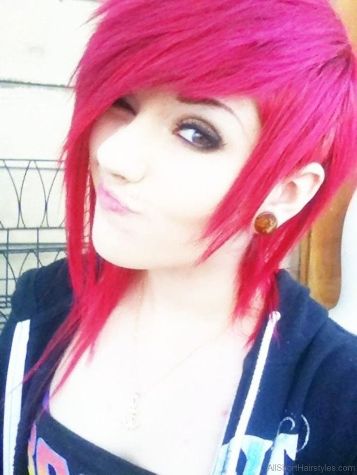 52 Colored Short Emo Hairstyles For Girls | Hairstyle in ...
