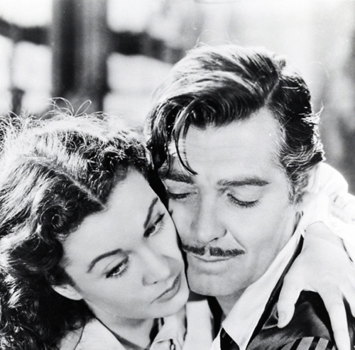 Scarlet and Rhett in Gone With the Wind