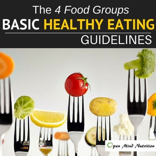 FULL ARTICLE: Basic Healthy Eating Guidelines to Help you Eat Healthy www.openmindnutrition.com/basic-healthy-eating-guidelines-how-to-eat-healthy/