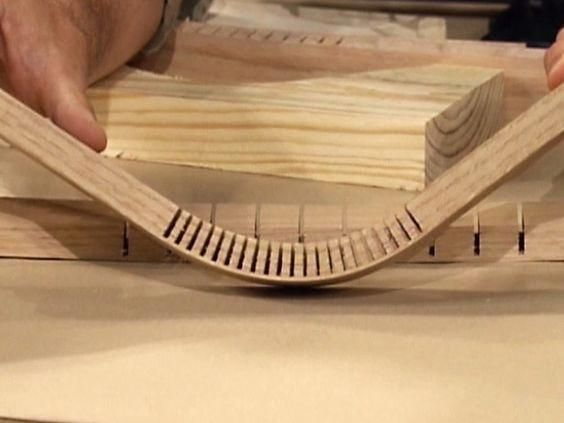 DIY Woodworking Ideas How to Bend Wood