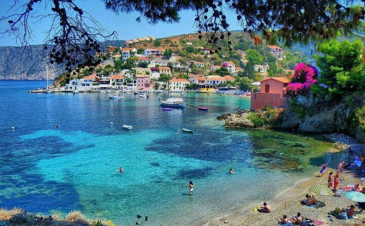Assos village in Cephalonia island my soul is belong to