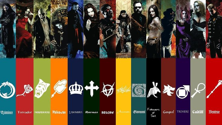 The Clans of Vampire: the Masquerade