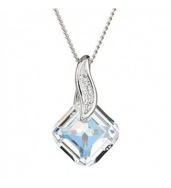PRECIOSA Hõbe Ripats ketiga Ag925/Rh668842 Crystal AB FEMININE CHARM STYLE.  PRECIOSA Tõelised Sterling hõbe Ripats ketiga Ag925/Rh668842 Crystal AB FEMININE CHARM STYLE Silver Elegance.  PRECIOSA Jewellery Silver Elegance is distinguished by its inimitable brilliance and precise facets. As is suggested by the name, the natural elegance of the crystal is emphasised by 925 silver in combination with rhodium, which gives every piece of jewellery a luxurious appearance. Silver Elegance