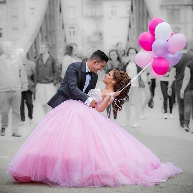 2016 Spring Summer Strapless Ball Gown Wedding Dresses Appliqued Custom Made Bride Dress Bridal Gown vestido de noiva