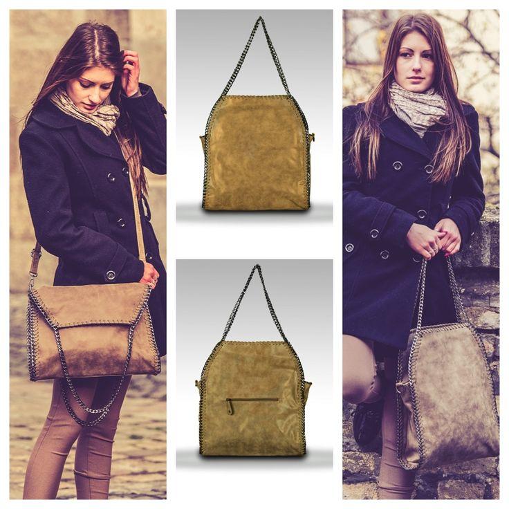 Gondoltad volna? Egy táska, két külünböző forma. Megvásárolhatod webshopunkban két színben! Légy változatos! :) www.ekszertaska.hu