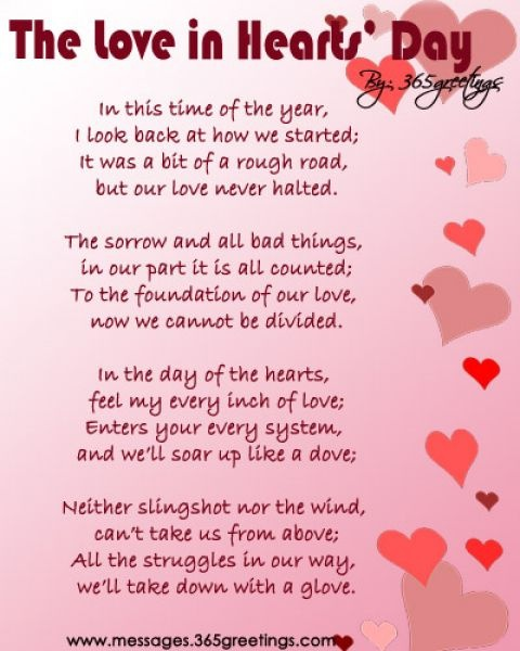 valentines day poems for your child