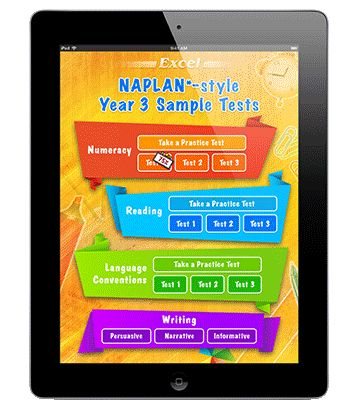 Excel NAPLAN*-style Test Apps | Pascal Press
